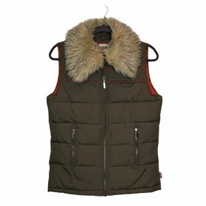 Levi's Duck Down & Feather Puffer Vest
